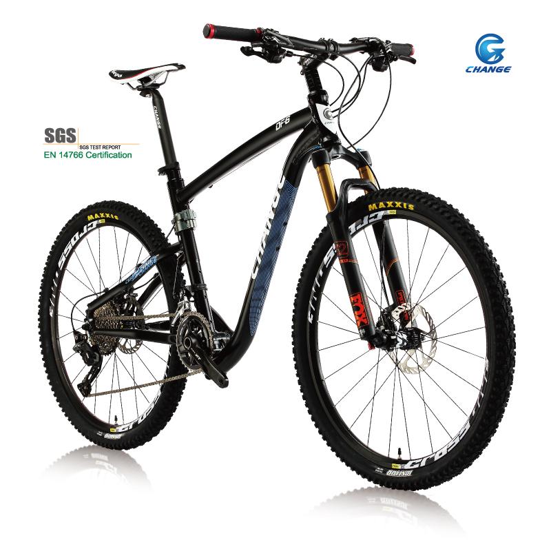 Change mountain folding bike