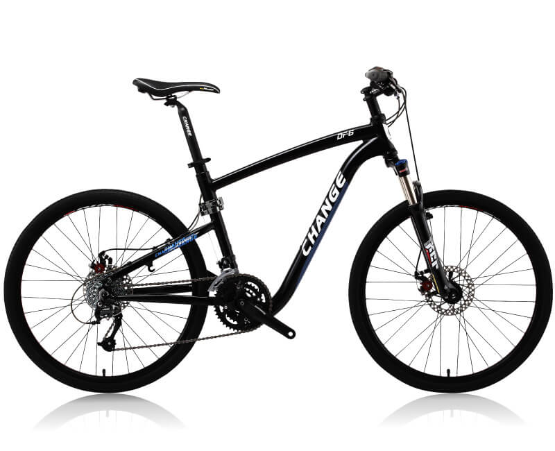 mtb folding bike changebike df-609d-b