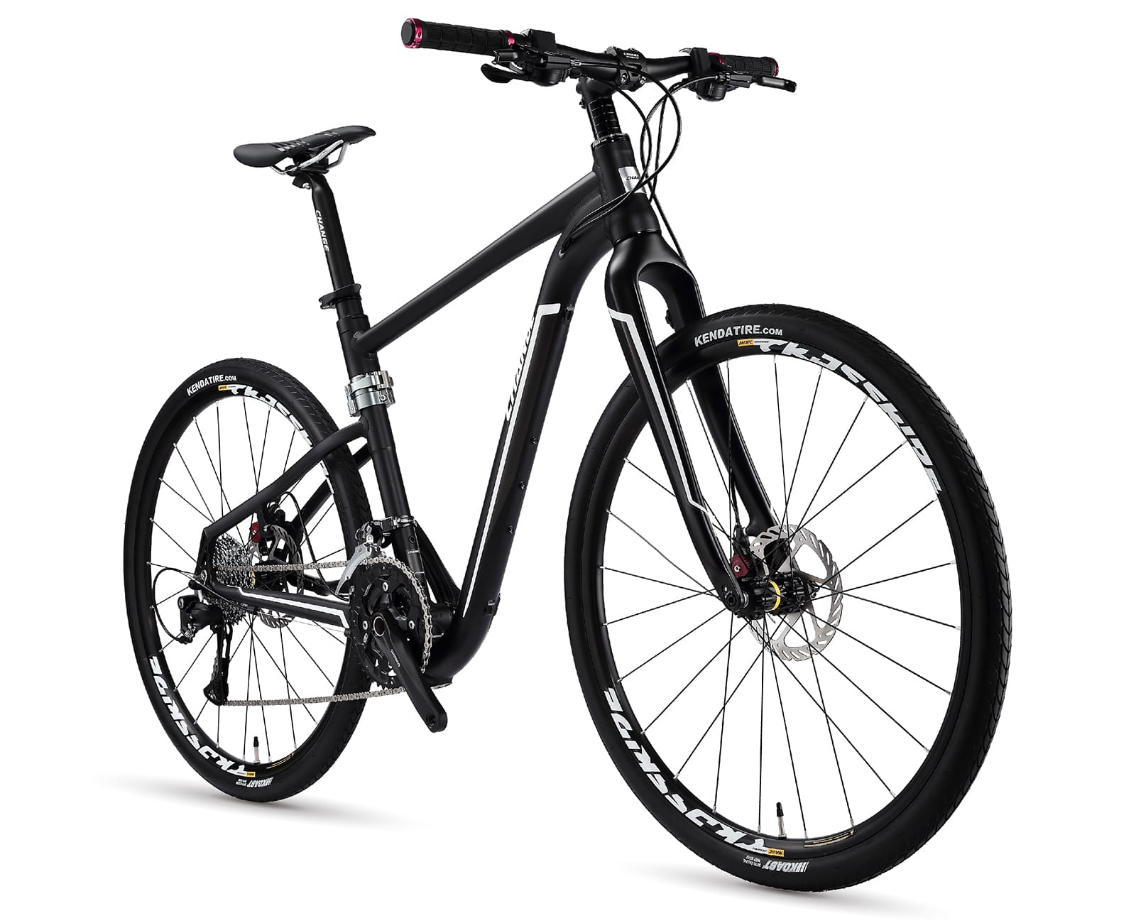27.5 hybrid folding bike changebike df-811k
