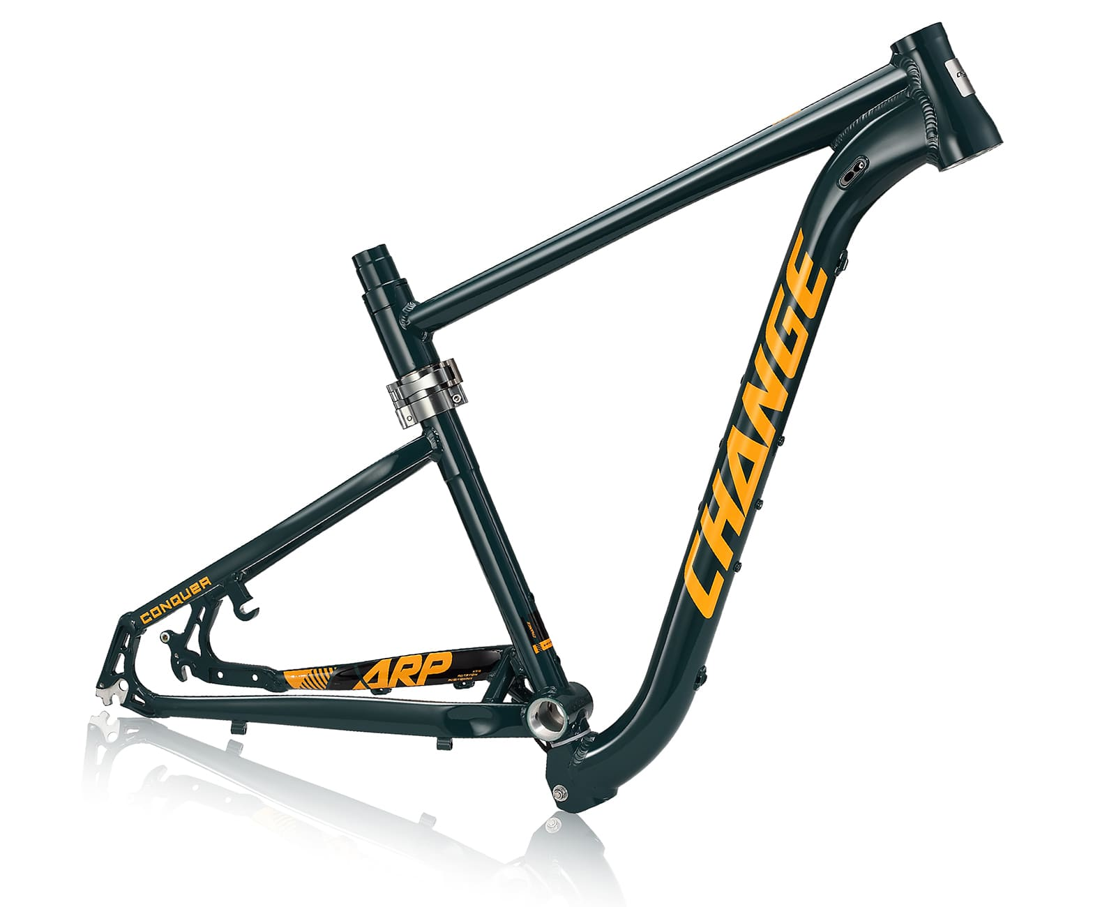 27.5 mtb folding frame changebike df-833g