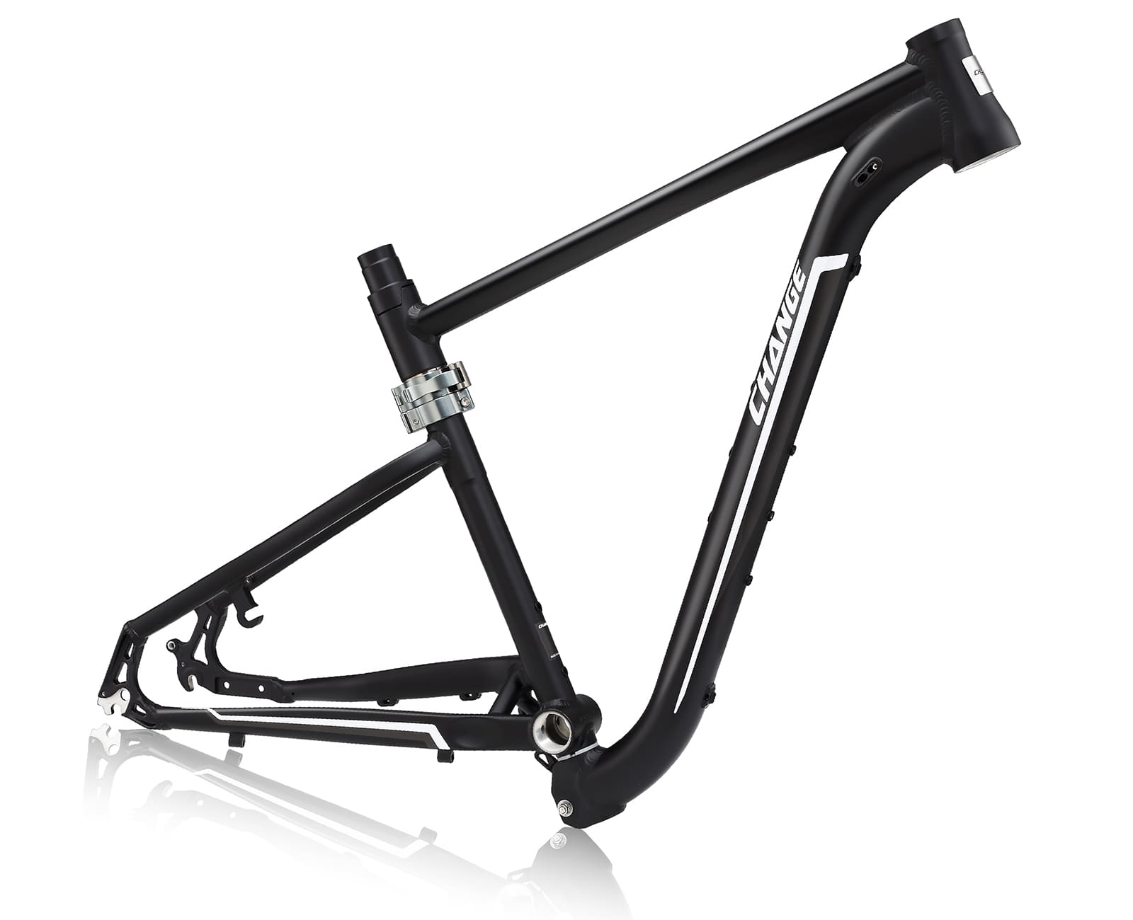 27.5 mtb folding frame changebike df-833k