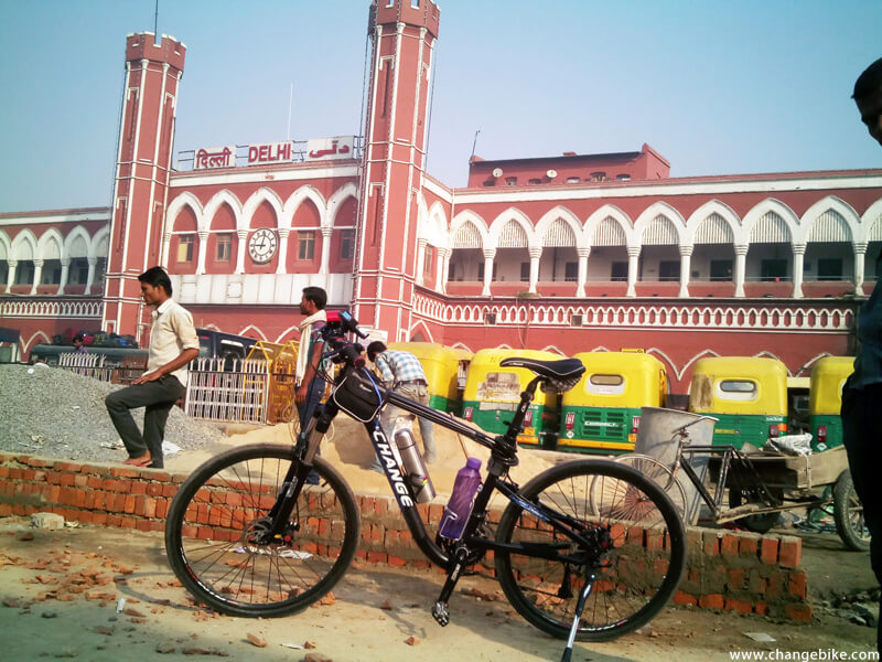 bike tour changebike delhi india
