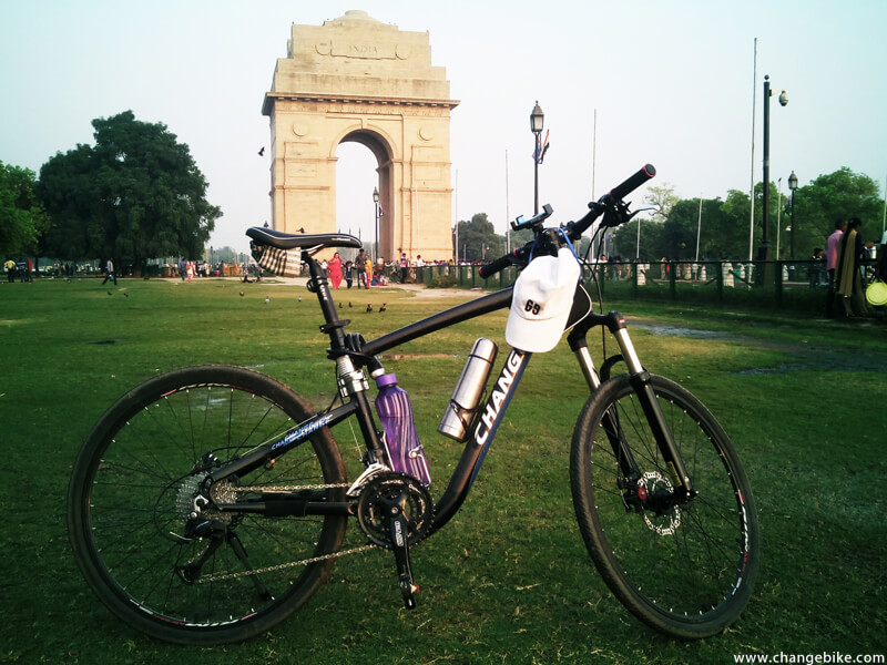 cycle europe changebike the india gate india