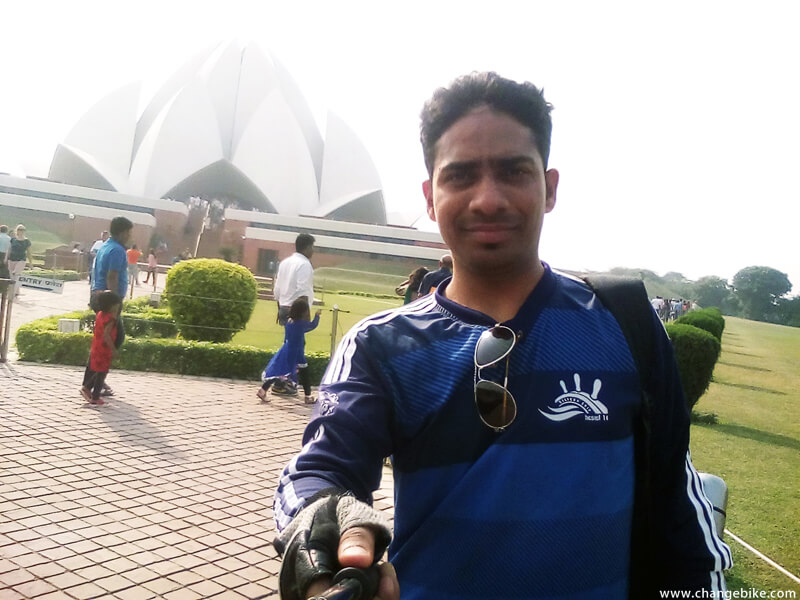 adventure bike tours changebike lotus temple india