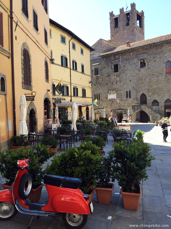 italy bike tours changebike cortona