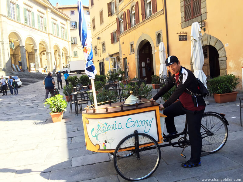 bike tour changebike cortona