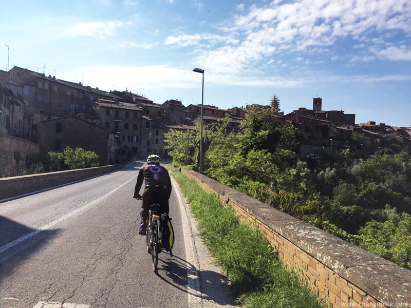 cycle touring changebike orvieto