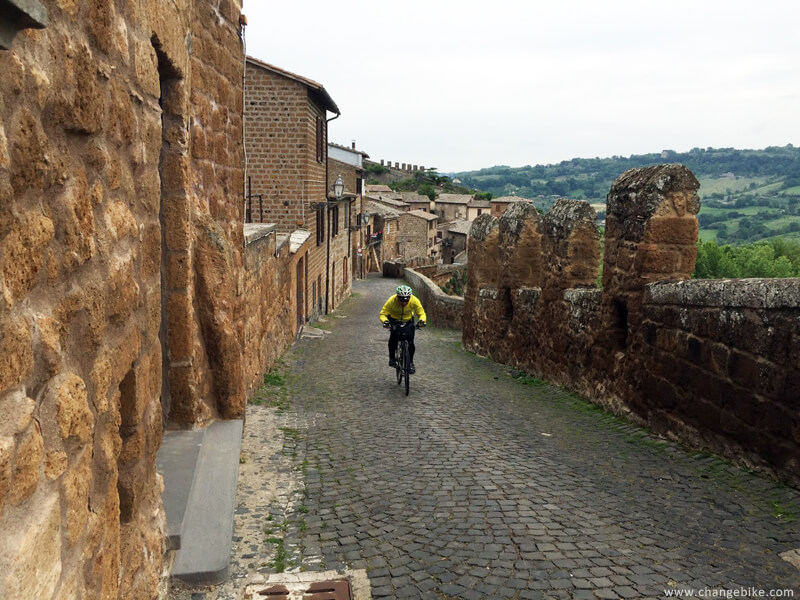 cycle europe changebike orvieto