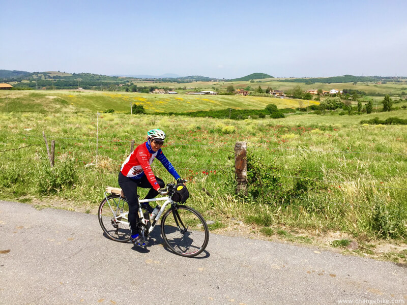 adventure cycling changebike bracciano