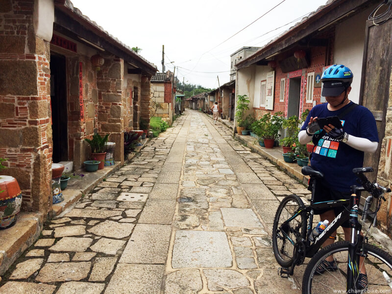 changebike adventure cycling 金門 明遺老街 自行車之旅