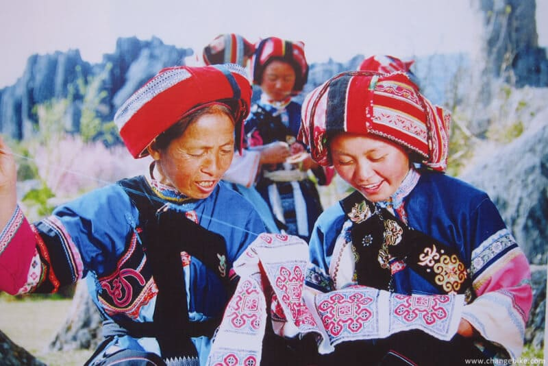 changebike cycle touring yunnan shilin daguanlou