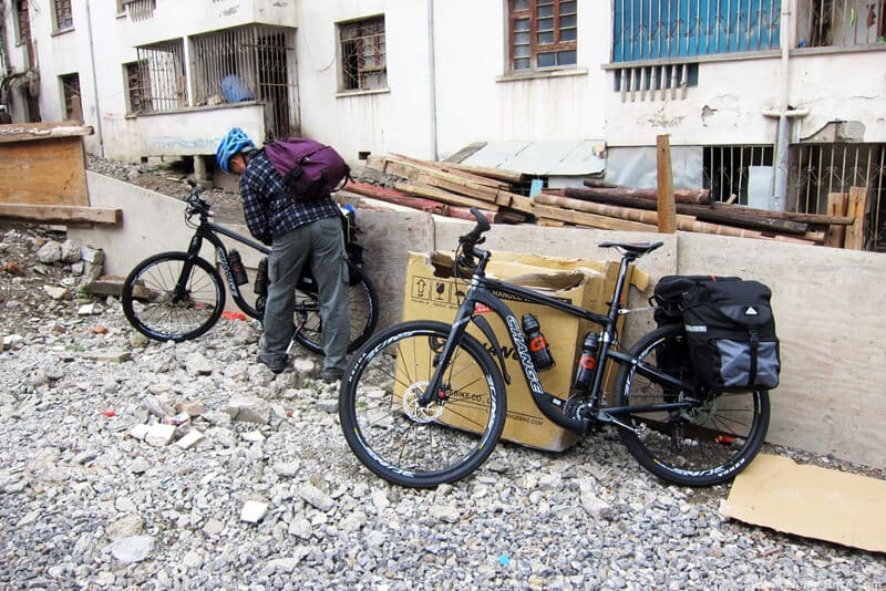changebike bike trip yunnan deqin