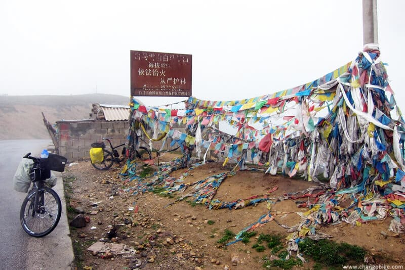 changebike cycle europe yunnan Baimang Snow Mountain
