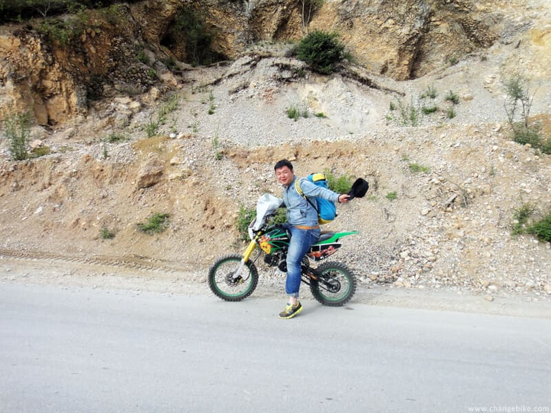 changebike adventure bike tours yunnan napa lake