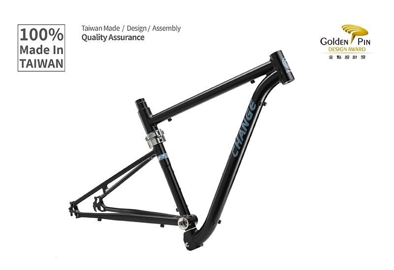 Foldable Bike Frame Changebike High Quality Alu 7005 Frame