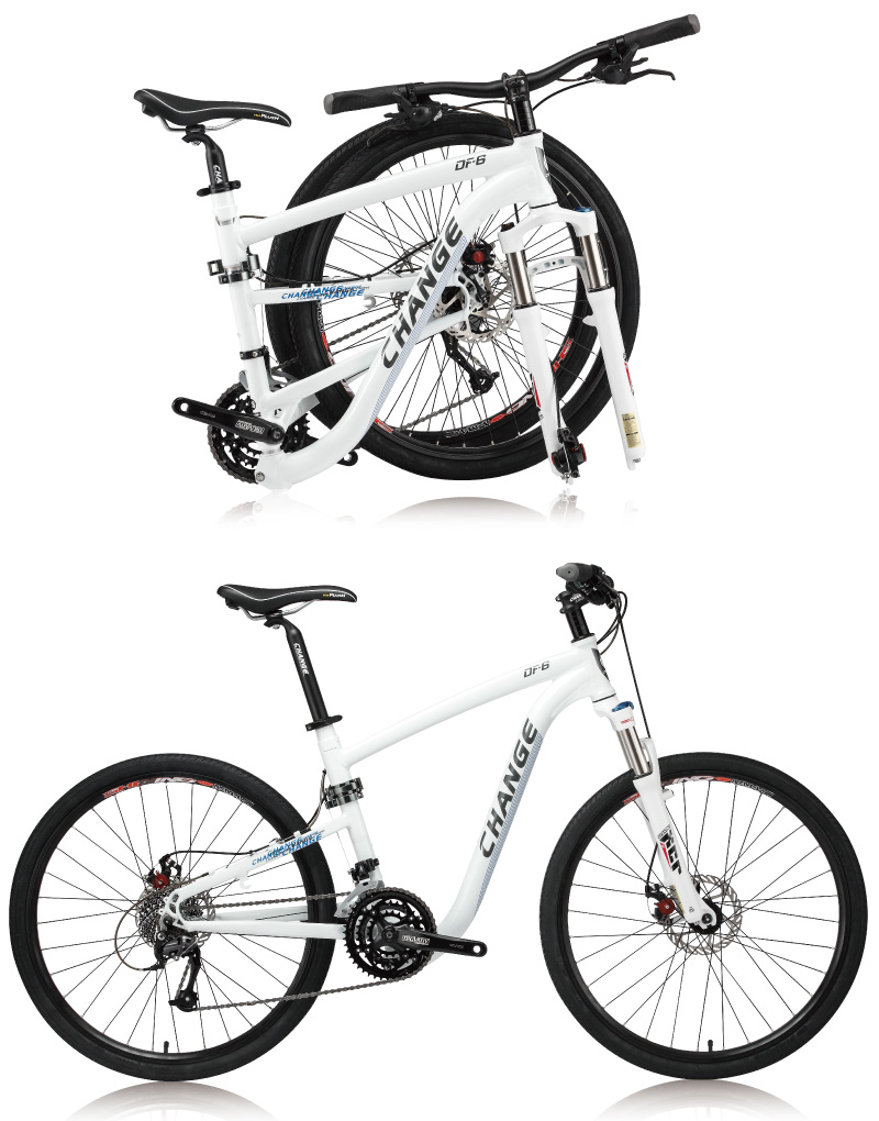 Folding Bikes Changebike 26 Inch Folding Mountain Bike Df 609d W